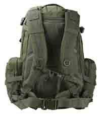 British Army Assault Viking Sac à dos de Patrouille Molle sac de voyage Vert - 60 l
