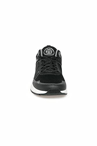 Camp David Herren Power Sneaker mit Strick-Struktur und Logo