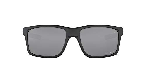 Oakley Mainlink Gafas de sol para hombre, polarizadas, Negro, 57