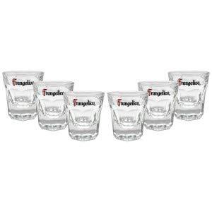 Frangelico Shotglas Glas Gläser-Set - 6x Shotgläser 2cl