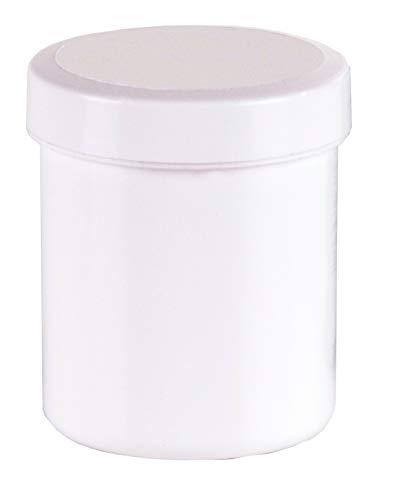 50 Salbendosen Salbendose Cremdose 30 g 35 ml Deckel weiß Salbendöschen Dose Kunststoffdosen Schraubdeckeldosen Schraubdeckel Salbentiegel Apothekerdosen Apothekenqualität Fa.ars
