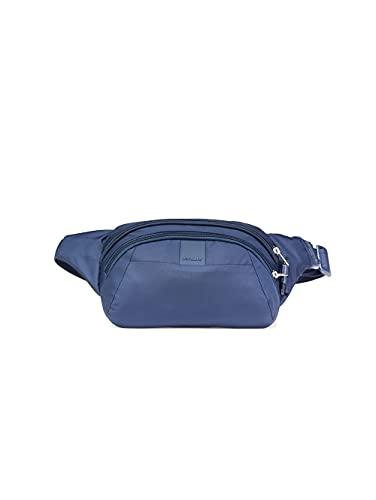 Pacsafe Metrosafe LS120 Anti-Diebstahl Nylon Hipbag, Hüfttasche für Damen und Herren, Tasche mit Diebstahlschutz, Umhängetasche mit Sicherheits-Features, 2 L, Blau/Deep Navy