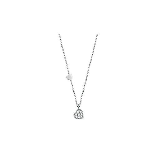 salvini Rettungskette Weißgold mit Diamanten 20055766