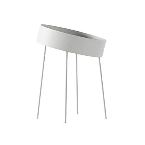 LXDDP Côté Nordique Quelques Lits Table d'appoint Simple Balcon Petite Table Basse Salon canapé côté Rond, 7 Couleurs