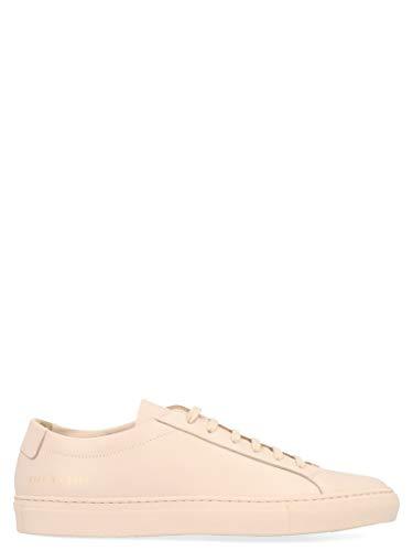 COMMON PROJECTS Luxury Fashion Damen 37010600 Rosa Leder Sneakers | Jahreszeit Permanent