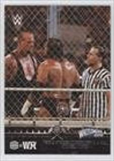 Faces Undertaker in a Hell in a Cell Match (Trading Card) 2015 Topps WWE Road to Wrestlemania - HHH@WM #9