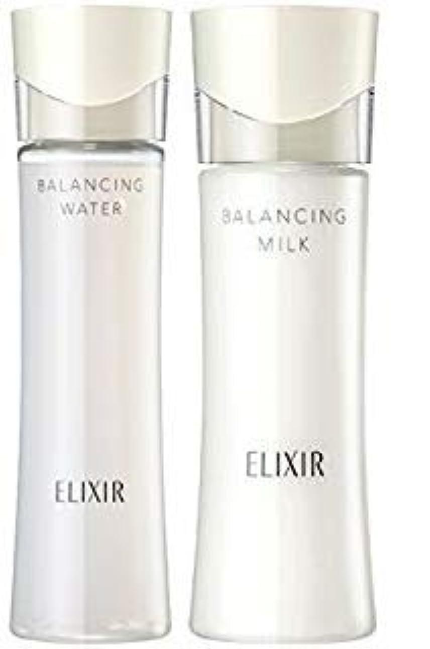 パキスタン人パネルいたずらなエリクシール ルフレ バランシング ウォーター2 化粧水168ml+乳液130mL (とろとろタイプ) セット