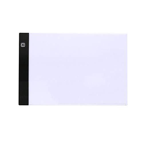 Heritan A5 Dibujo Tableta Diamante Pintura Junta USB Arte Copia Pad Escritura Sketching Wacom Tracing Led Light Pad