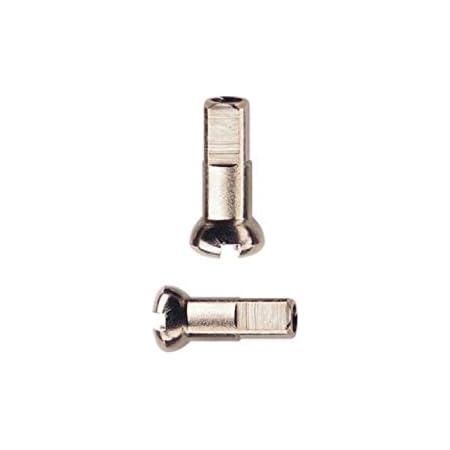 Messing Speichennippel 37 Stück Speichen 297mm Spokes silber NIROSTA 2mm inkl
