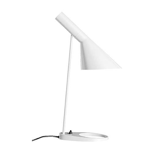 HHFZH AJ Lampe LED einfache Knopf Lernen Schlafzimmer Nachttischlampe E27