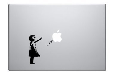 South Coast Stickers JOHNNY CASH LAPTOP STICKER MUSIC IPAD TABLET APPLE FUNNY VINYL GRAPHIC DECAL