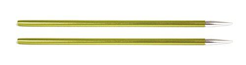 Agujas de Coser Circulares Intercambiables Normales con Brillos de KnitPro, Aluminio, Multicolor, 3,50 mm
