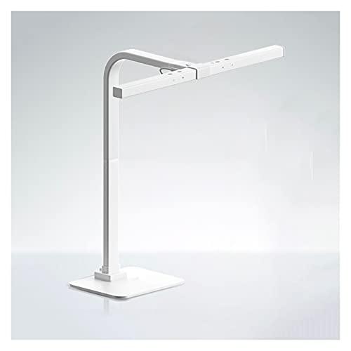 Lámpara Escritorio LED Lámpara de escritorio de protección de ojos Lámpara Luz de clip Dimmable Táctil Control de pantalla Lámpara de lectura de oficina ajustable de altura con luz de relleno intelige