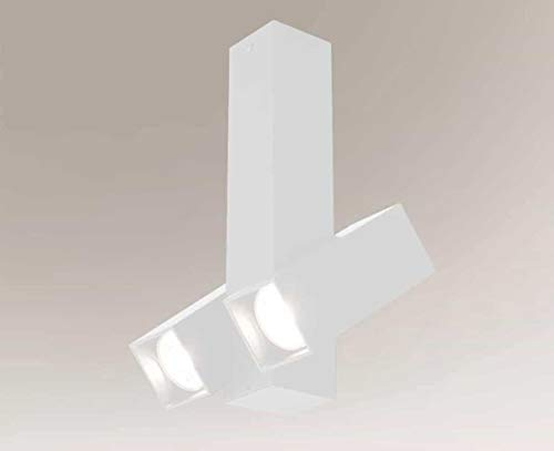 SHILO Mitsuma 7887 - Lámpara de techo (2 x 5 W, GU10, mini IP20)