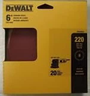 DEWALT DARB1H0805 5-Inch AO Fiber Resin Disc 80G 5-pack