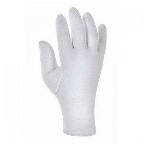 1 Paar -2 Stueck- Baumwoll Trikot Handschuhe Baumwollhandschuhe weiß gebleicht Trikothandschuhe 01050 (l-large 10)