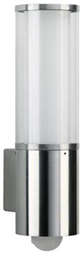 Albert Außenwandleuchte, Glas, E27, weiß, 14.5 x 0 x 40 cm
