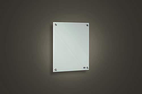 FERN INFRAROT GLASHEIZUNG neueste Technologie 300W Glaspaneele in weiss auf Carbon Crystal Bild 2*