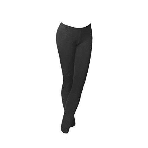 leggings donna JADEA art. 4192 cotone elasticizzato (l/xl, nero)