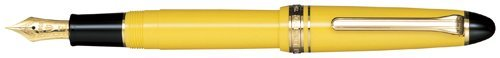 Sailor 1911estándar amarillo GT 14K oro punta fina pluma...