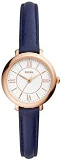Fossil Womens Quartz Watch, Analog Display and Leather Strap ES4410