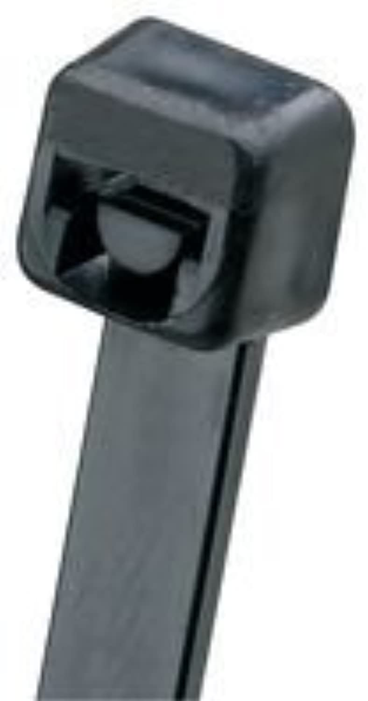 Panduit PLT3I-M0 Cable Tie, Intermediate, 11.4  Length, schwarz schwarz schwarz (Pack of 1000) by Panduit B018V19AR8   Die Farbe ist sehr auffällig  9394e4