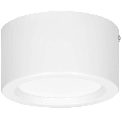 Orno SIREMO LED Deckenleuchte Runde 9W - 720lm - Φ138*75, Weiß