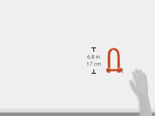 大洋製器工業 大洋 強力長シャックル 2.5t TSL2.5 1個 407-2677