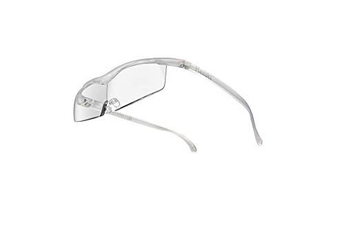 Hazuki ハズキルーペ 直営店 公式店 限定 倍率交換保証付き コンパクト1.6倍 クリアレンズ パール ハズキ 拡大鏡 ルーペ メガネ型 眼鏡型 めがね型 メガネ 眼鏡 めがね 日本製 MADE IN JAPAN ギフト