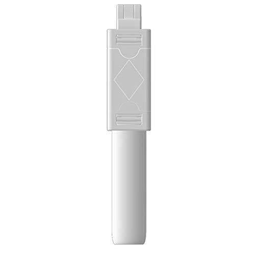Nicejoy Bluetooth Selfie Stick Inalámbrico Selfie Stick K07 Handheld Plackable Downleable 3 En 1 Mini con Tripod Shutter Control Remoto Blanco