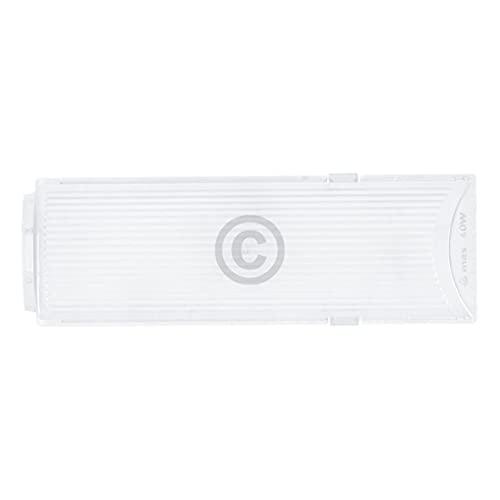 Lampenabdeckung kompatibel mit BOSCH 00265250 174x59mm für Dunstabzugshaube