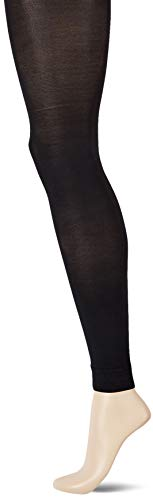 Ulla Popken Große Größen Damen Strumpfhose Strumpfleggings, 60 DEN, (Schwarz 10), X-Large (Herstellergröße: 48+)