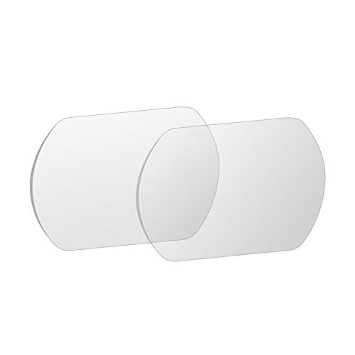 DJFEI FPV Goggles V2 Schutzfolie, Displayschutzfolie aus gehärtetem Glas für DJI FPV Goggles V2, Schweißfest, Staubdicht Explosionsgeschützt (B)