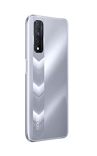 realme narzo 30 (Racing Sliver, 6 GB RAM, 64 GB Storage) - MediaTek Helio G95 processor I Full HD+ display with No Cost EMI/Additional Exchange Offers