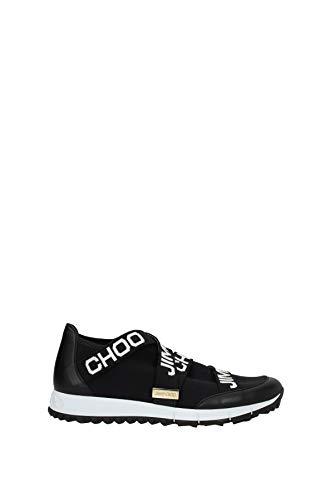 JIMMY CHOO Sneakers Toronto Damen - Stoff (TORONTOXKEBLACKWHITE) 41 EU