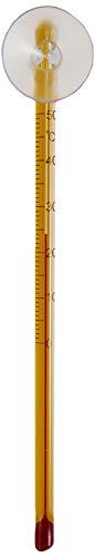 Amtra Wave Thermomètre Mince avec Ventouse pour Aquariophilie