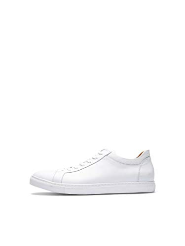 SELECTED HOMME Male Sneakers Leder- 44White