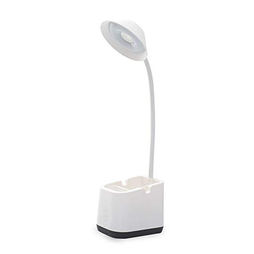 PElight LED tafellamp kinderen met nachtlampje USB batterij bureaulamp leeslamp boek daglichtlamp dimbare bedlampje touch tafellamp voor thuis kantoor studeerkamer mobielhouder & penhouder