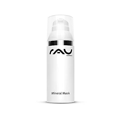 RAU Mineral Mask 50 ml - Masque visage minéral pour les peaux impures et acnéiques. Á base de la craie médicinale de Rügen, la sauge, du Zinc et de beurre de karité- effet apaisant et antibactérien!
