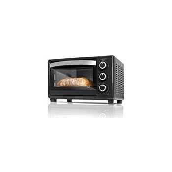 Cecotec Bake&Toast 790 - Horno Conveccion Sobremesa, Capacidad de 46 litros, 2000 W, 12 Modos, Temperatura hasta 230ºC y Tiempo hasta 60 Minutos, Incluye Accesorio Rustidor con pinzas: Amazon.es: Hogar