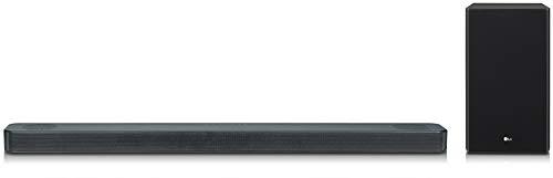 LG SL8YG - Barra de Sonido 3.1.2 con Tecnología Meridian (440 W, Asistente de Google en Español Integrado, Dolby Atmos, DTS:X, Hi-Res 24 bits/192 kHz, HDMI 2.0, Wi-Fi, Bluetooth, USB) Color Negro