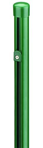 Poteau de clôture en Zinc pour grillage à poules Revêtement en Phosphate et plastique Vert, 665104