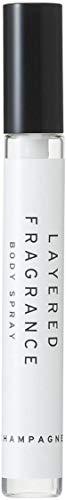 レイヤードフレグランス ボディスプレー シャンパン 10ml