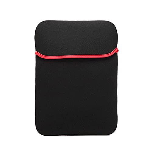 GLASSNOBLE Bolsa de almacenamiento, 10 – 17 pulgadas para portátil bolsa protectora de neopreno de manga suave para tablet PC