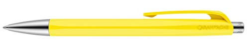 Caran d'Ache 888 Infinite Ballpoint Pen, Lemon Yellow Resin Hexagonal Barrel (888.240)