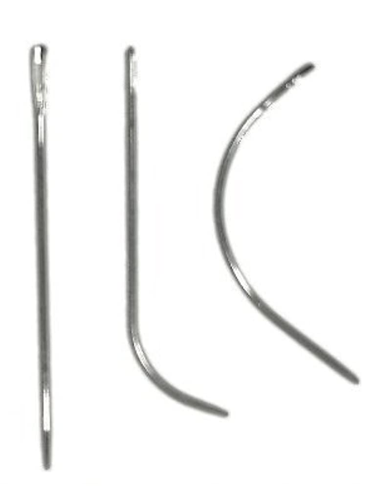Black Weaving Thread Straight Curve Hook Needle CMO-