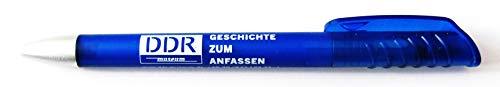 DDR Museum Berlin - Geschichte zum Anfassen - Werbekugelschreiber - Kugelschreiber