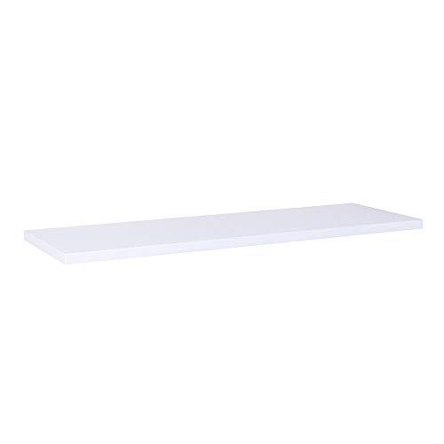 Prateleira Branca 60 X 20cm Com Suporte Invisível
