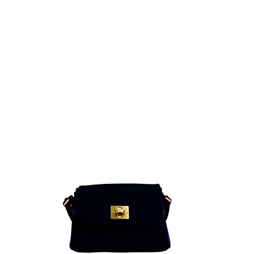 Joop! Schultertasche Chiara Mila aus Leder Damen Handtasche mit Überschlag