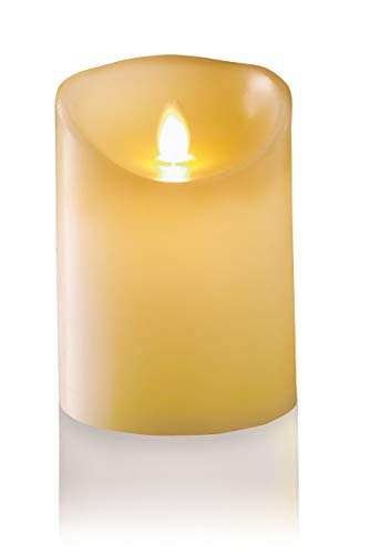 Premier Decorations Flameless LED Dancing Candle Small Size 13cm Tall Christmas Light